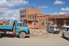 The outskirts of the city of La Paz Stock Photo
