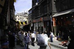 Outskirts el bazar de Estambul Imágenes de archivo libres de regalías