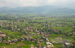 Outskirts of Kathmandu Royalty Free Stock Images