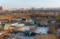 Outskirts of  Ryazan city.  Russia Stock Photos