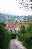 Outskirts of the town of Herceg Novi Stock Photo