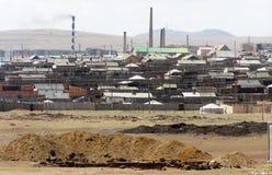 Outskirts of Ulan Bator Stock Image
