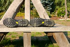 Outsole shoes Stock Images