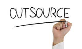 Outsource Concept Stock Images