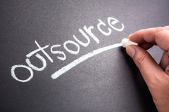 Outsource royalty free stock images