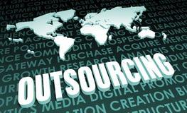 outsourcing Zdjęcie Stock