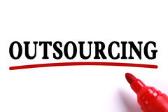 Outsourcing Abstract Royalty Free Stock Photos