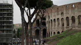 Outstanding The Colosseum in Rome, Italy stock video