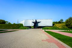 Brest Fortress Hero Complex stock photography