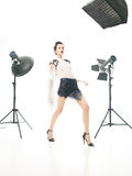 Outstanding fashion look Royalty Free Stock Image