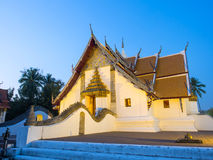 Outstanding Northern style Thai art of Wat Phu Mintr, Thailand Stock Images