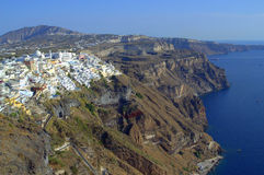 Outstanding  Santorini Stock Photography