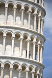 The outstanding view of the Leaning Tower on Squar Stock Images