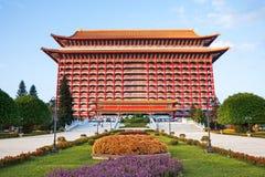 2012, outubro, 25a - cidade de Taipei, Taiwan: A opinião exterior do hotel grande Imagens de Stock