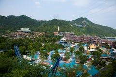 OUTUBRO Shenzhen do leste Meisha fotografia de stock royalty free