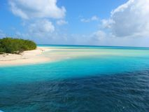 ouvea neuf de beau de caledo de plage mouli d'île images libres de droits