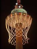 Ouverture 2011 d'Eurobasket. Le plus haut panier. Photos stock