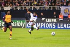 Ouverture Champions League Photo stock