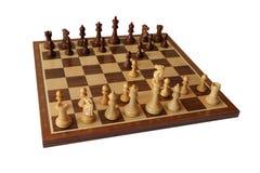 Ouverture d'échecs Damiano Defence photo libre de droits