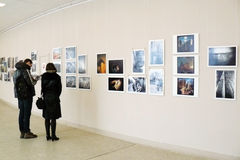 Exposition de photo du monde -2012 de Smena Photo stock