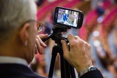 Ouverture de la première session du Verkhovna nouvellement élu rad Photo stock