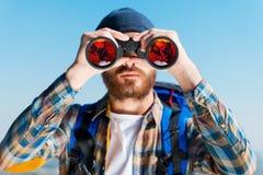 Ouverture de nouveaux horizons Photographie stock
