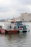 Ouverture de saison de navigation à Moscou Photographie stock libre de droits