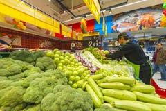 Ouverture officielle de Carrefour Photos stock
