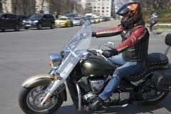 Ouverture officielle de la saison de moto d'été à Sofia, Bulgarie image stock