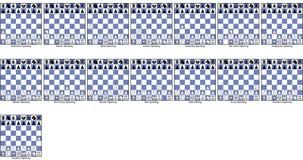 Ouvertures irrégulières d'échecs de jeux illustration stock