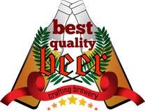 Ouvrage de la marque de qualité de bière Photographie stock