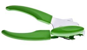 Ouvreur de bidon vert vibrant photo libre de droits