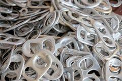 Ouvreurs de boîte en aluminium images stock