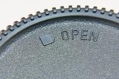 Ouvrez de cette façon Images stock
