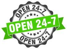 ouvrez 24 joints 7 estampille Photo libre de droits