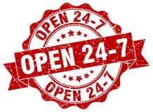 ouvrez 24 joints 7 estampille Photos libres de droits
