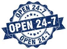 ouvrez 24 joints 7 estampille Images stock