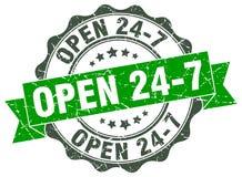 ouvrez 24 joints 7 estampille Photo stock