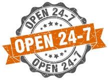 ouvrez 24 joints 7 estampille Images libres de droits