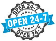 ouvrez 24 joints 7 estampille Photographie stock