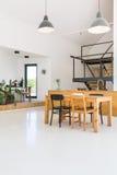 Ouvrez l'appartement de plancher photo libre de droits