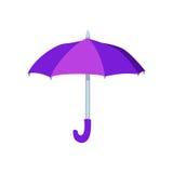 Ouvrez l'illustration de vecteur de parapluie Image libre de droits