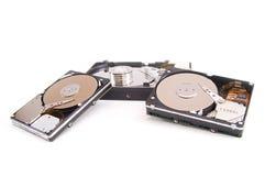 Ouvrez l'unité de disque dur Photo libre de droits