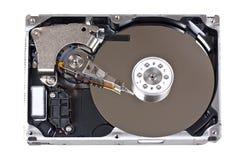 Ouvrez l'unité de disque dur Photos libres de droits
