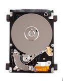 Ouvrez l'unité de disque dur. Photos stock
