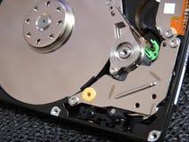 Ouvrez l'unité de disque dur Photos stock