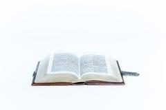 Ouvrez la bible Images libres de droits