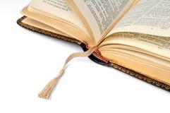 Ouvrez la bible Photographie stock libre de droits