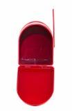 Ouvrez la boîte aux lettres rouge Images libres de droits