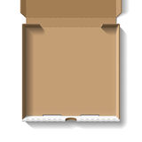 Ouvrez la boîte à pizza Photos libres de droits